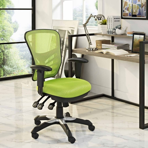 Articulate Mesh Office Chair - Green