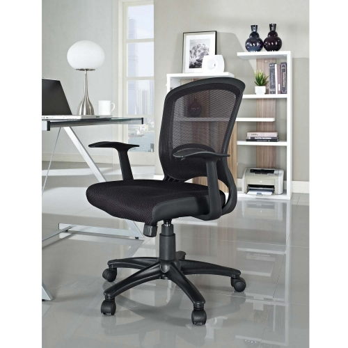 Pulse Mesh Office Chair - Black