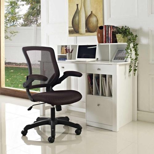 Veer Mesh Office Chair - Brown