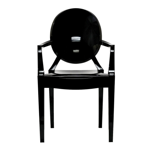 Casper Dining Armchairs Set of 2 - Black