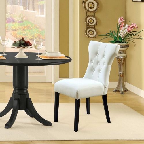 Silhouette Dining Chairs Set of 2 - White