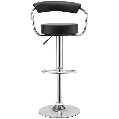 Diner Bar Stool Set of 4 - Black
