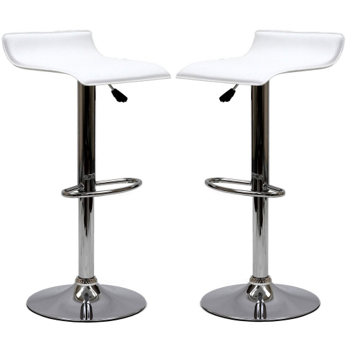 Gloria Bar Stool Set of 2 - White