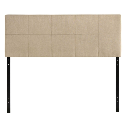 Oliver Queen Fabric Headboard - Beige