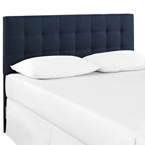 Lily Fabric Headboard - Navy
