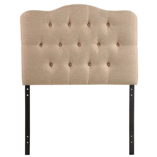 Annabel Fabric Headboard - Beige