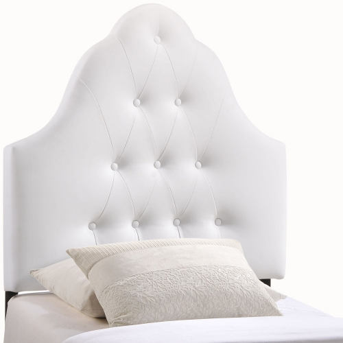 Sovereign Vinyl Headboard - White