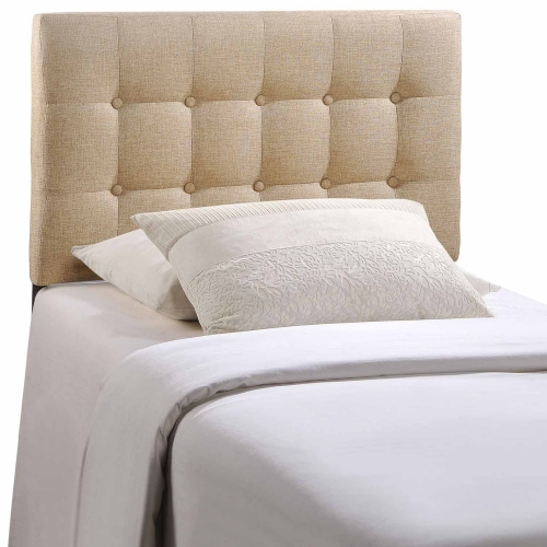 Emily Fabric Headboard - Beige