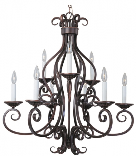Manor 6 - 3 Lt. Chandelier