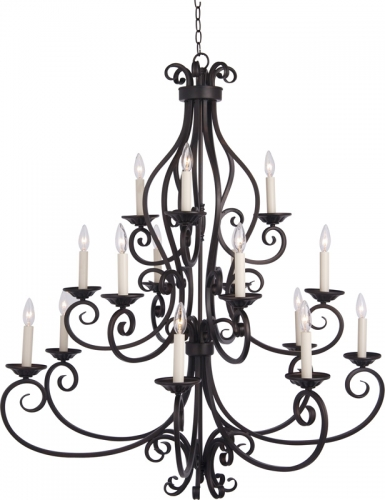 Manor 6 - 6 - 3 Lt. Chandelier