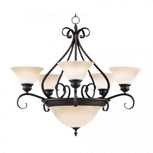 Pacific 5-2 Lt Chandelier