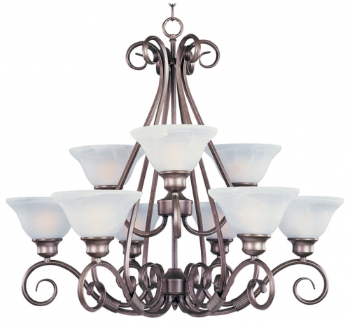 Pacific 9 Lt Chandelier