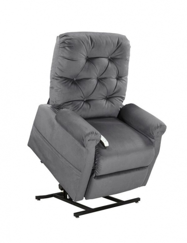 NM200 Classica 3-Position Power Lift Chaise Recliner - Charcoal
