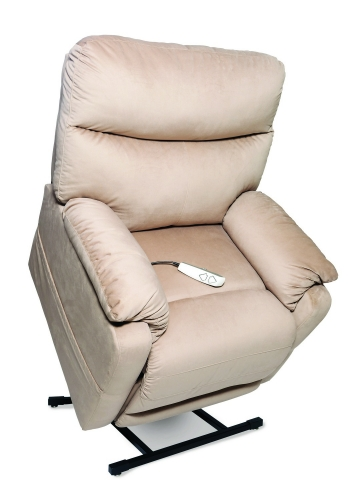 NM1750 Cloud 3-Position Power Lift Chaise Recliner - Camel