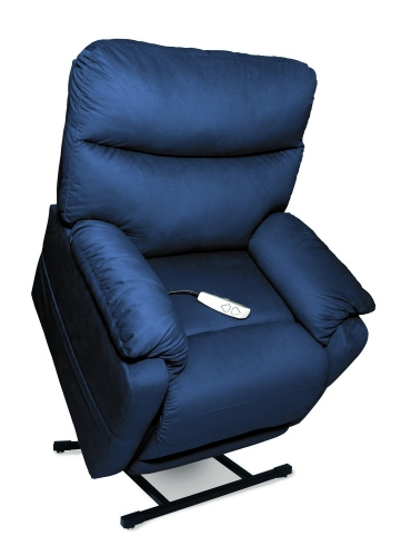 NM1750 Cloud 3-Position Power Lift Chaise Recliner - Navy