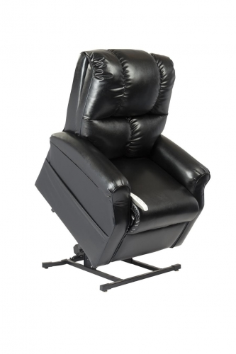 NM2001 Main Street 3-Position Power Lift Chaise Recliner - Black