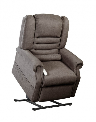 NM1850 Serene Infinite Position Power Lift Chaise Recliner - Chocolate