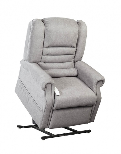 NM1850 Serene Infinite Position Power Lift Chaise Recliner - Dove
