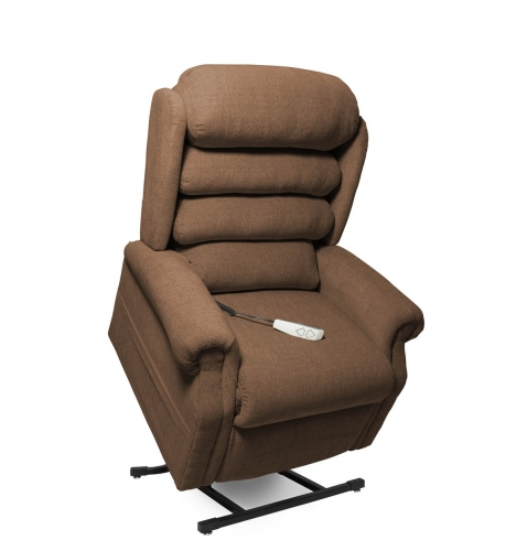 NM1950 Stellar 3-Position Power Lift Chaise Recliner - Curry