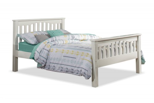 Highlands Harper Bed - White