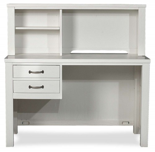 Highlands Desk with Hutch - White Finish