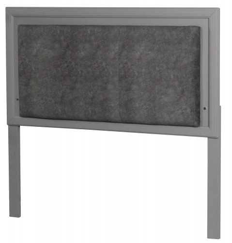 Lyndon Lane Upholstered Panel Led Lighted Headboard - Gray