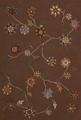 Contour CON05 Brown Area Rug
