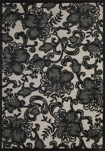 Graphic Illusions GIL02 Pewter Area Rug