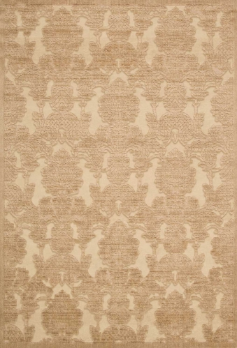 Graphic Illusions GIL03 Light Gold Area Rug