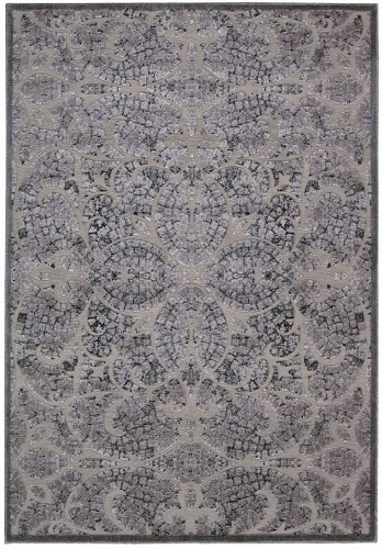 Graphic Illusions GIL05 Grey Area Rug