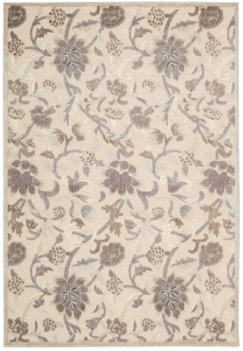 Graphic Illusions GIL06 Ivory Area Rug