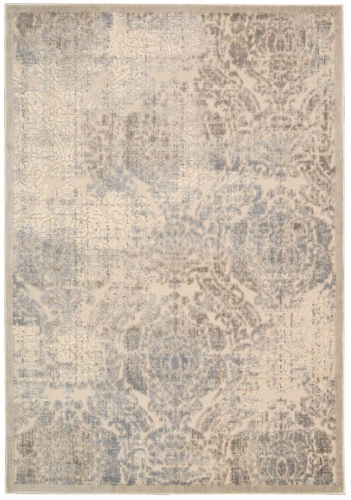 Graphic Illusions GIL09 Ivory Area Rug