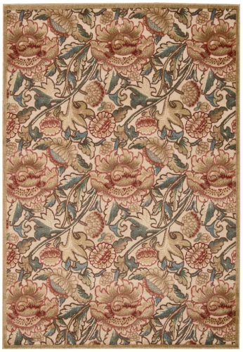 Graphic Illusions GIL10 Light Gold Area Rug