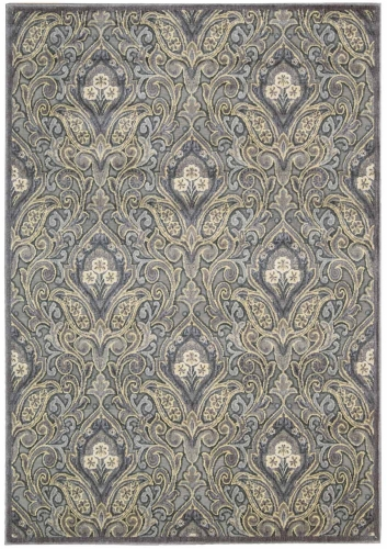 Graphic Illusions GIL11 Grey Area Rug