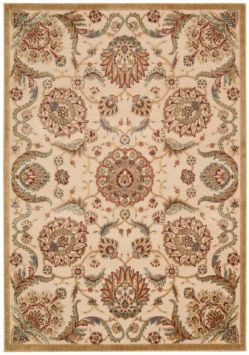 Graphic Illusions GIL17 Beige Area Rug