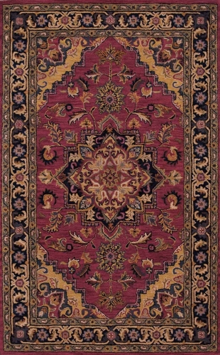 India House IH02 Rust Area Rug