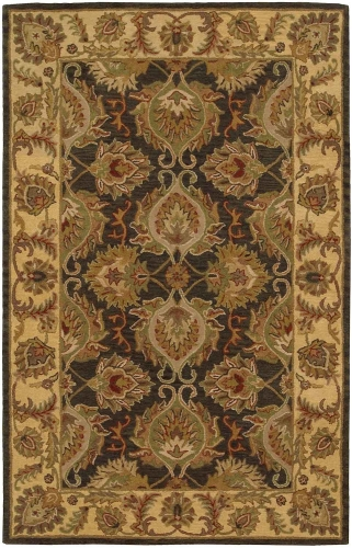 India House IH59 Green Area Rug
