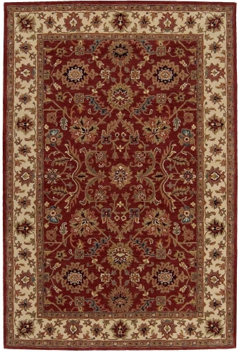 India House IH61 Brick Area Rug