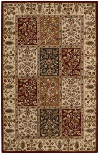 India House IH70 Multi Color Area Rug