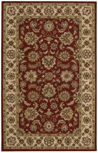 India House IH72 Red Area Rug