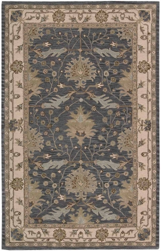 India House IH75 Blue Area Rug