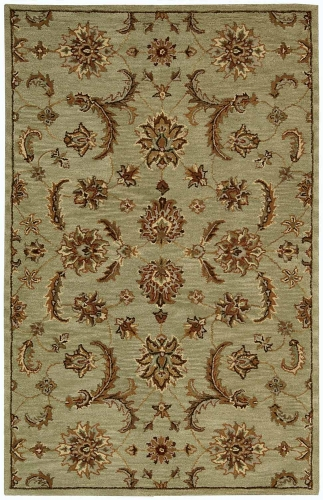 India House IH83 Light Green Area Rug