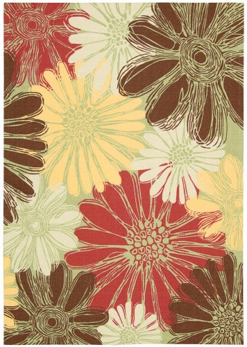 Home and Garden RS022 Green Area Rug