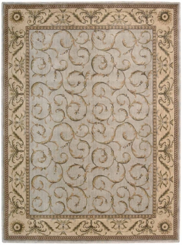 Nourison Somerset ST02 Blue Area Rug