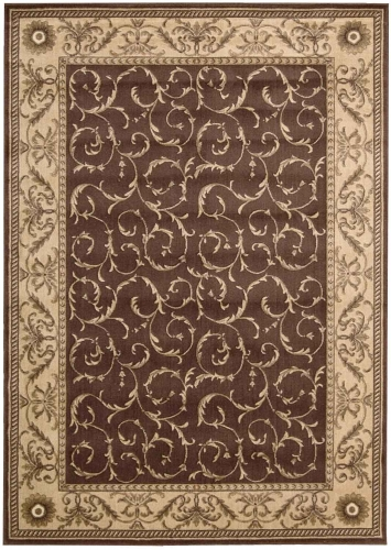 Somerset ST02 Brown Area Rug