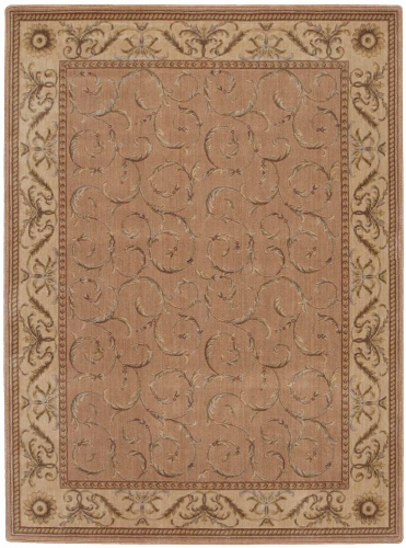 Nourison Somerset ST02 Peach Area Rug