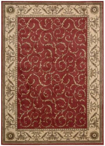 Somerset ST02 Red Area Rug