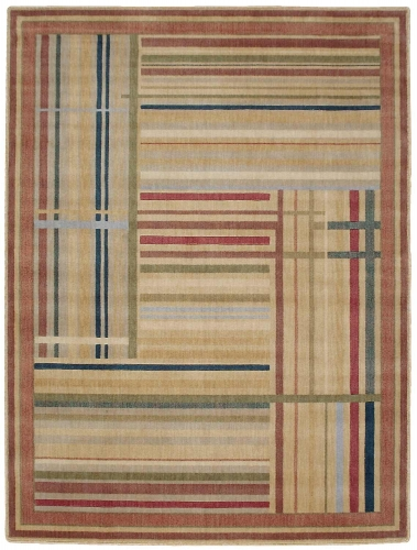 Nourison Somerset ST17 Multi Color Area Rug