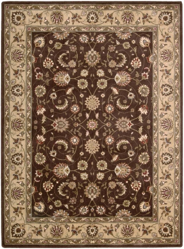 Nourison Somerset ST62 Brown Area Rug