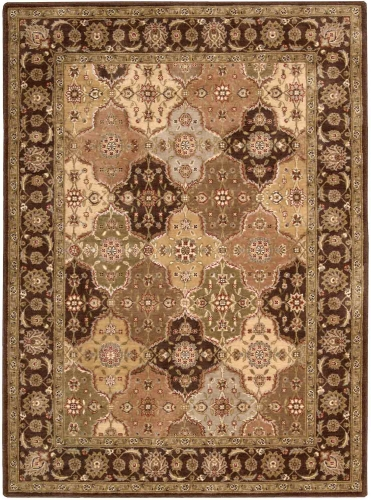 Nourison Somerset ST63 Multi Color Area Rug